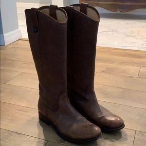 Frye Melissa 2 button boots